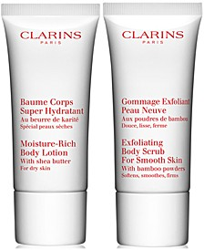 Receive a FREE 2pc Gift with any $115 Clarins Purchase (Total Gift Worth $72!)