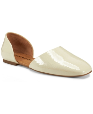 Retro Vintage Flats and Low Heel Shoes Lucky Brand Womens Drowe dOrsay Flats Womens Shoes $55.30 AT vintagedancer.com