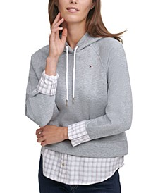 Layered Pullover Hoodie
