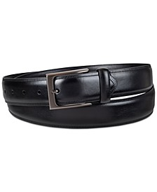 Men's Feather-Edge Embossed Belt, Created for Macy's