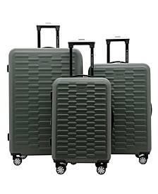 3-Pc. Shannon Spinner Expandable  Luggage Set