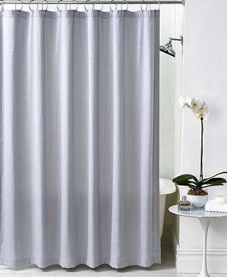 hotel collection chevron shower curtain - shower curtains - bed