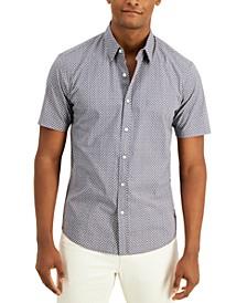Men's Slim-Fit Short-Sleeve Logo Shirt, Created for Macy's