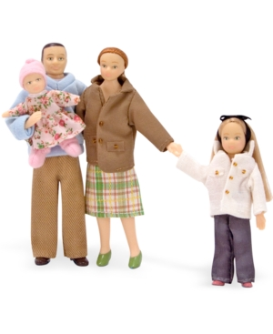 Melissa and Doug Kids Toys Victorian Doll Family