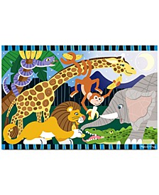 Kids Toy, Safari Social 24-Piece Floor Puzzle