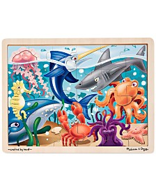 Melissa and Doug Kids Toy, Under the Sea 24-Piece Jigsaw Puzzle