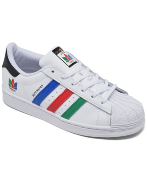 Adidas Originals ADIDAS LITTLE BOYS SUPERSTAR CASUAL SNEAKERS FROM FINISH LINE
