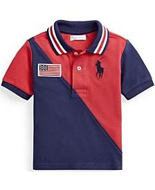 Ralph Lauren Baby Boys Big Pony Cotton Mesh Polo T-Shirt