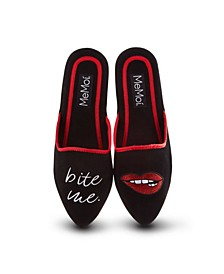 Bite Me Women's Slippers