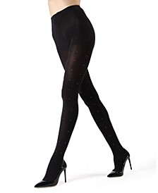 Floral Shine Glam Women's Tights