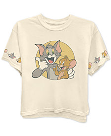 Freeze 24-7 Trendy Plus Size Tom & Jerry T-Shirt