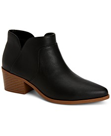 Vidyaa Ankle Booties, Created for Macy's