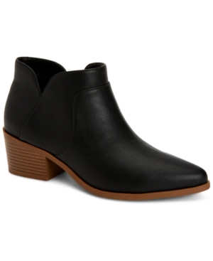 Style amp Co Vidyaa Ankle Booties Created for Macy s Women s Shoes E579