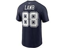 Dallas Cowboys Men's Pride Name and Number Wordmark 3.0 Player T-shirt Ceedee Lamb