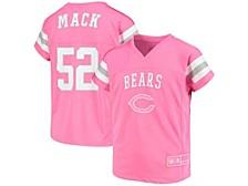 Girls Chicago Bears Replica Jersey - Khalil Mack