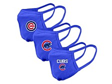 "Level Wear Chicago Cubs 3pack ""Guard 2"" Face Covering"