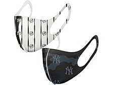 New York Yankees 2-Pack Bonded Mask Face Coverings