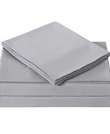 Solid Twin Sheet Set