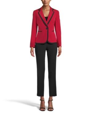 Two-Tone Pants Suit