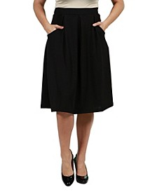 Women's Classic Knee Length Skirt