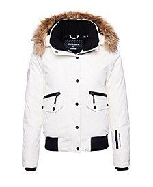 Women's Everest Down Snow Bomber Jacket