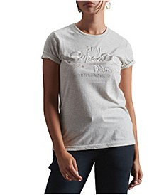 Women's Vintage Logo Tonal Embroidered T-Shirt