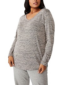 Trendy Plus Size Karly Long Sleeve Top
