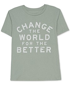 Juniors' Change The World T-Shirt