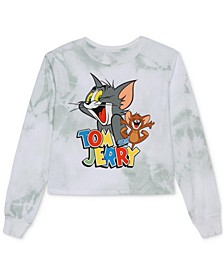 Juniors' Tom & Jerry Long-Sleeve T-Shirt
