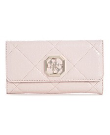 Dilla Quilted Logo Multi Clutch Wallet