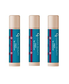 Women's Lip Conditioner Peppermint, Pack of 3