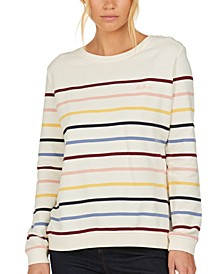 Ramble Striped Cotton Sweater