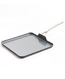 "Valencia Pro Healthy Ceramic 11"" Nonstick Griddle"