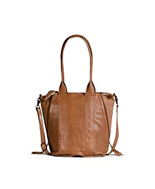 Halo Leather Satchel