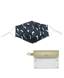 Convenient Face Mask and Holder Set