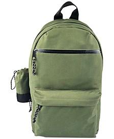 Men's Backpack with Detachable Water Bottle Holder