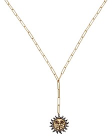 Celestial Sun Y Necklace