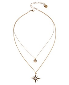 Celestial Star Layered Pendant Necklace