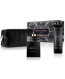 Men's 3-Pc. Man In Black Gift Set