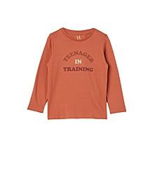 Little Girls Penelope Long Sleeve T-shirt