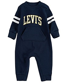 Baby Boys Waffle Knit Coverall