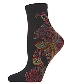Women's Obi Floral Anklet Socks