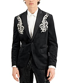 INC Men's Spencer Embroidered Blazer, Created for Macy's