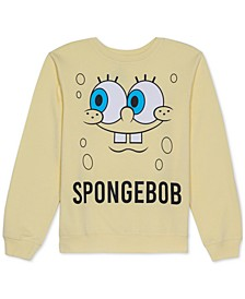 Juniors' Spongebob Graphic Sweatshirt