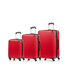 Global 3-Pc. Hardside Luggage Set