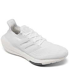 Men's UltraBOOST 21 Running Sneakers from Finish Line
