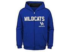 Kentucky Wildcats Kids Full Zip Hooded Sweatshirt