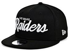 Las Vegas Raiders Script 9FIFTY Cap