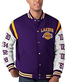 Men's Los Angeles Lakers Goal Post Commemorative Jacket