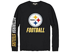 Pittsburgh Steelers Men's Zone Read Long Sleeve T-Shirt